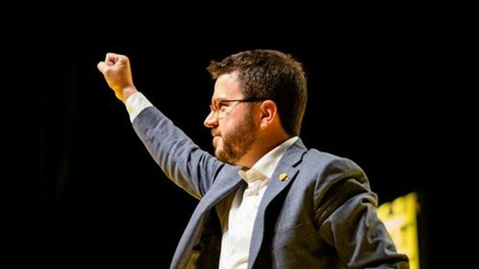 El vicepresidente del Govern y líder de ERC, Pere Aragonés.