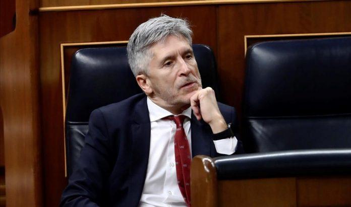 Marlaska en el parlamento