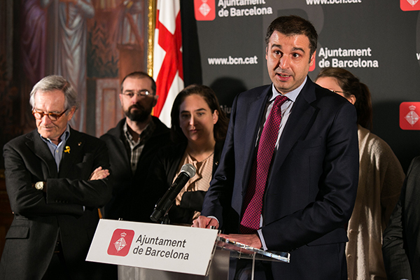 Roger Pallarols, director general del Gremi de Restauració de Barcelona. Foto: Arnau Dalmases.