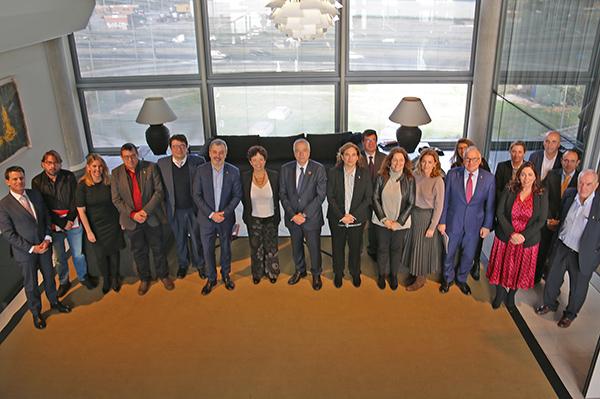 Imagen de archivo del plenario anterior, ya que el de este año ha sido telemático. Foto: El Consorci.