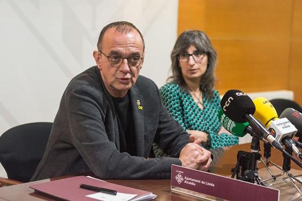Miquel Pueyo, alcalde de Lleida, en una imagen de archivo. Foto: Europa Press.
