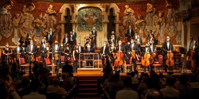 Actuación de la Orquesta del Liceu en el Palau de la Música el lunes como parte del programa del Grec.