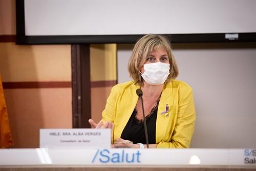 La consellera de Salud, Alba Vergés, en una imagen de archivo (Europa Press).
