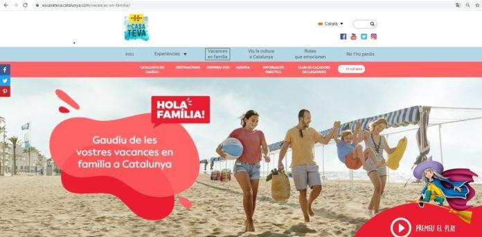 Vista de una de las imágenes de promoción turística de Cataluña.