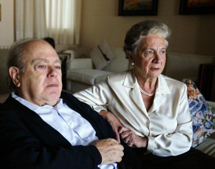 Jordi Pujol y Marta Ferrusola.