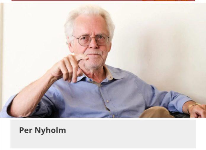 Per Nyholm en la portada de Vilaweb.
