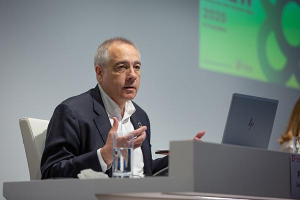 Pere Navarro, delegado del Estado en el Consorci, durante una comparecencia reciente. Foto. Europa Press.