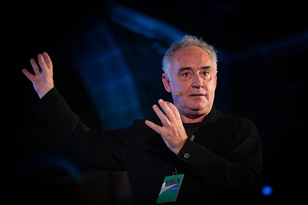 El célebre cocinero Ferran Adrià participará en el próximo foro organizado por Fira de Barcelona. Foto: Europa Press.