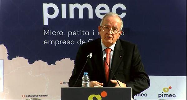 Josep González, presidente de PIMEC.