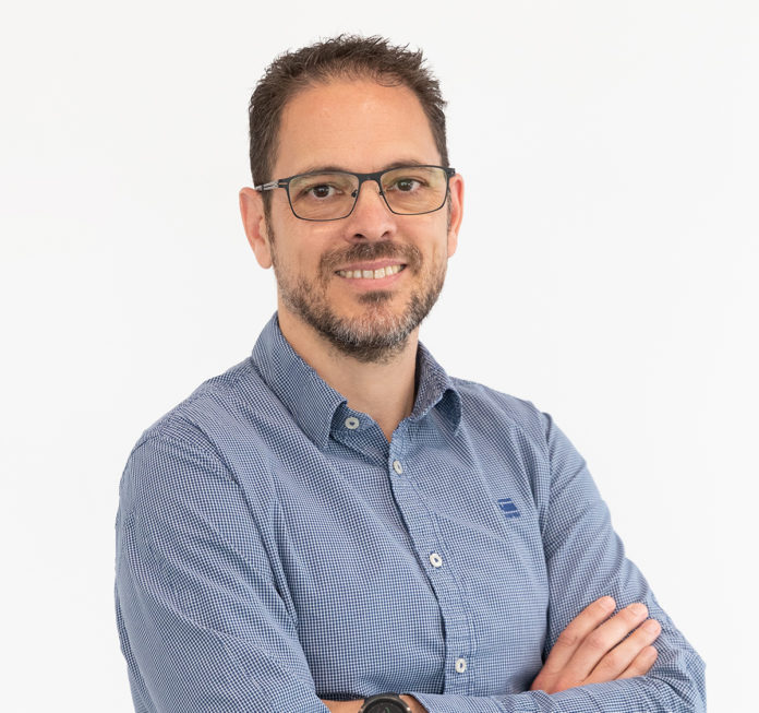 Víctor García, portavoz de los centros comerciales de Cataluña. Foto: Víctor García.