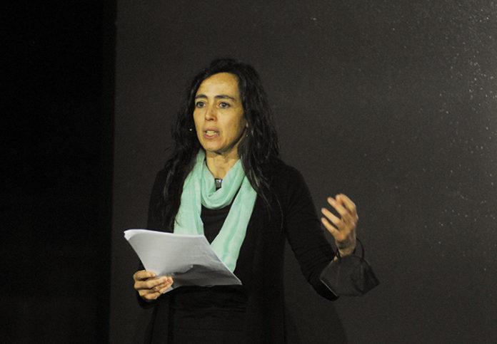 Mònica Roca, presidenta de la Cambra de Comerç de Barcelona, durante una comparecencia reciente. Foto: Europa Press.