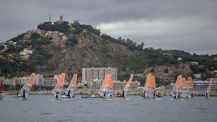 Vista del Campeonato de España de Windsurf del año 2019. Foto: Alfred Farre.