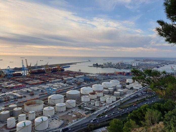 Vista del Port de Barcelona. Foto: Europa Press.