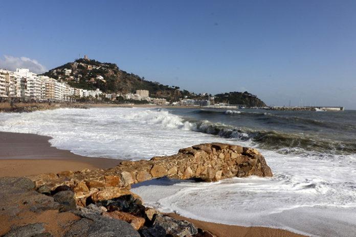 Vista de la playa de Blanes. Foto: Ajuntament de Blanes.