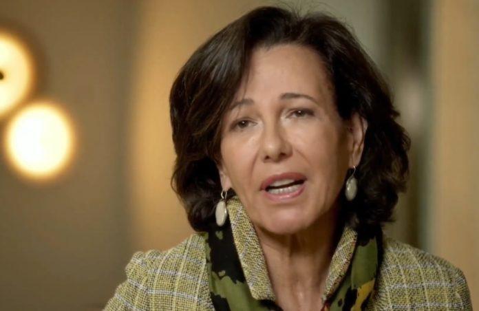 Ana Botín, durante una comparecencia reciente. Foto: Europa Press.
