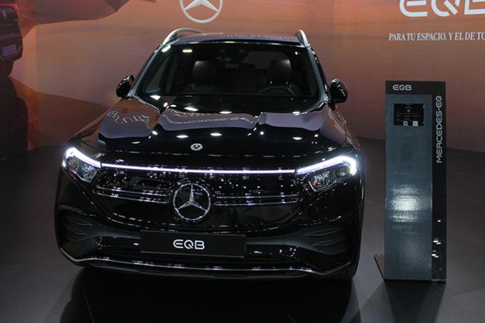 Mercedes EQB, un SUB que no llegará al mercado hasta febrero o marzo del año que viene.