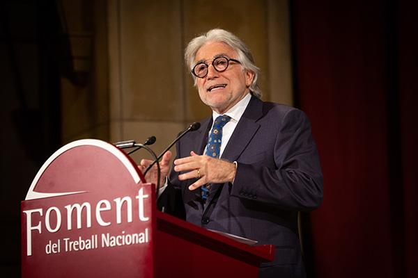 Josep Sánchez Llibre, presidente de Foment del Treball. Foto: Europa Press.